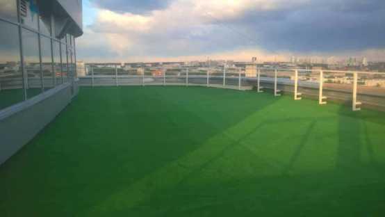 Монтаж искусственной травы г. Екатеринбург